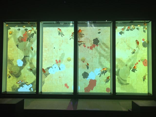 アートアクアリウム展「琳派リウム」