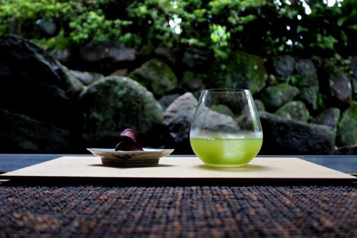 嬉野の冷茶2