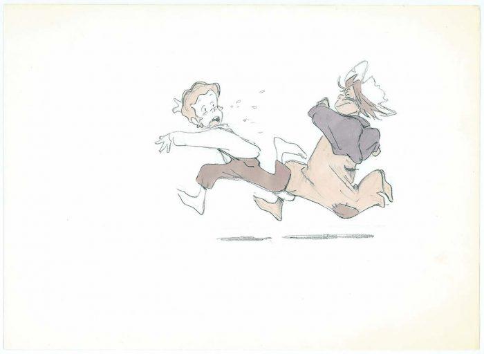 ⑦「トム・ソーヤーの冒険」設定画 関修一