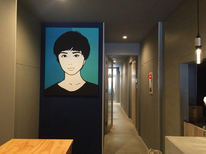 至るところにアーティストの施しもあり、楽しめる空間となっている。