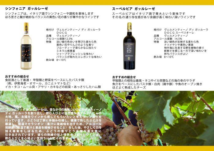 コンソルツォ サンミケーレさんから届く直輸入ワイン。バカンスで訪れるセレブに人気の白ワイン~ISOLACARA直輸入のヴェルメンティーノ・ディ・ガッルーラDOCGシンフォ二ア(Sinfonia)