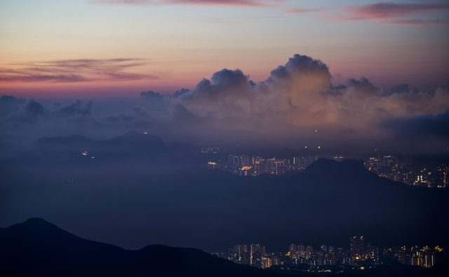 s_Tai Mo Shan Twilight (Credit-Elvis Mo)