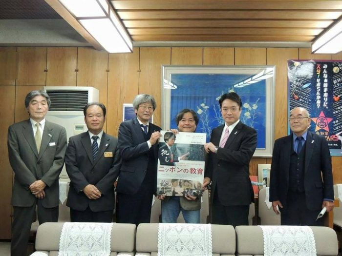 高知県知事表敬訪問