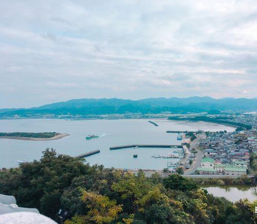 富岡城からの眺め