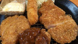 とんかつ「きんのつる」【とんかつ・福岡】惣菜食べ放題が強い魅力!一人飯にも、ファミリーにも。