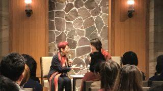 上野千鶴子さん講演@株式会社フロイデギズモ設立披露パーティ